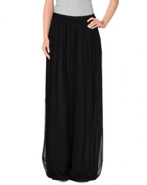 Длинная юбка FABRIZIO LENZI. Цвет: черный