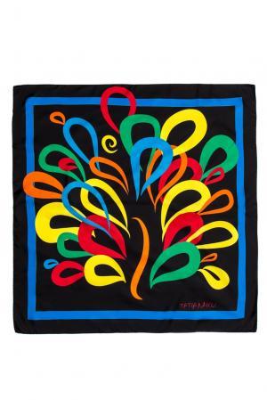 Шелковый платок 156821 Tatiana Kulagina. Цвет: разноцветный