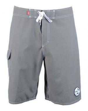 Пляжные брюки и шорты VANS. Цвет: серый
