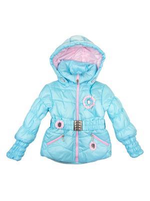 Куртка babyAngel. Цвет: бирюзовый