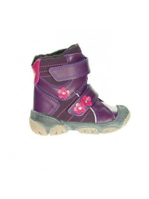 Ботинки Bartek. Цвет: фиолетовый,бордовый