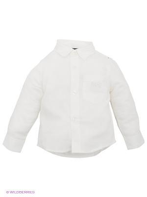 Рубашка IDO. Цвет: молочный