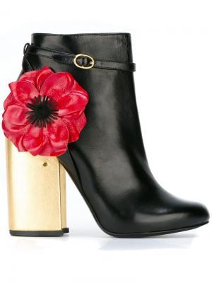 Ботинки Mirabelle Laurence Dacade. Цвет: чёрный