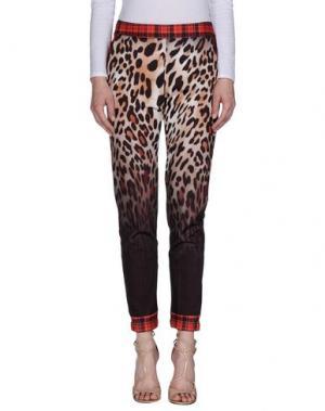 Повседневные брюки EAN 13. Цвет: светло-коричневый