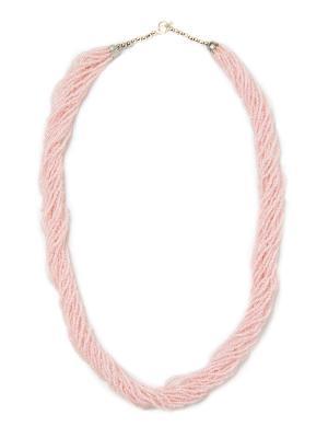 Колье из бисера, Нежность BD0057 Indira. Цвет: розовый