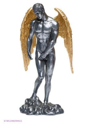 Статуэтка Ангел Veronese. Цвет: темно-серый, золотистый