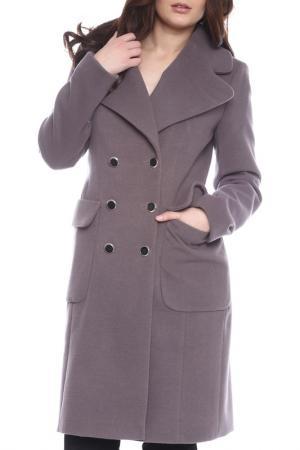 Пальто Emma Monti. Цвет: серый