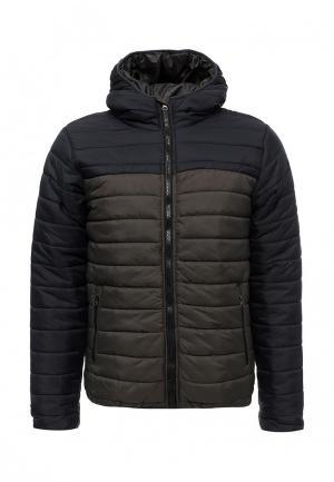 Куртка утепленная Soulstar. Цвет: серый