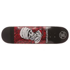 Дека для скейтборда  Zfx Assy Code Red 31 x 8 (20.3 см) Z-Flex. Цвет: черный,красный