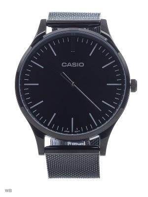 Часы LTP-E140B-1A CASIO. Цвет: черный