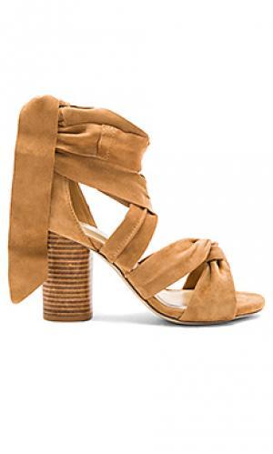 Обувь на каблуке myra RAYE. Цвет: цвет загара