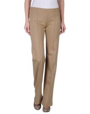 Повседневные брюки SCRUPOLI. Цвет: хаки