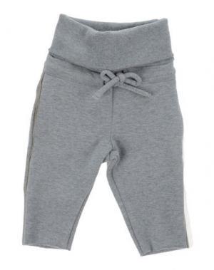 Повседневные брюки LE PETIT COCO. Цвет: светло-серый
