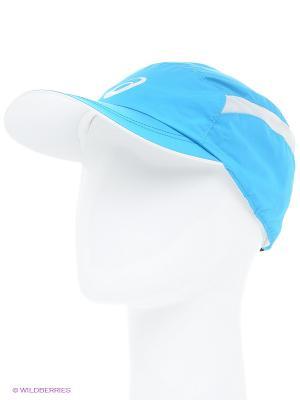 Бейсболка ESSENTIALS CAP ASICS. Цвет: голубой