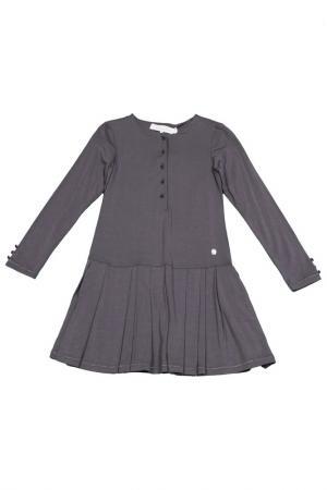 Платье Baby Dior. Цвет: серый