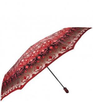 Складной зонт со стальным стержнем Doppler. Цвет: красный