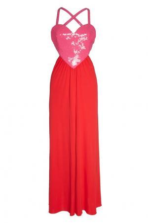 Платье Amore Azzaro. Цвет: красный