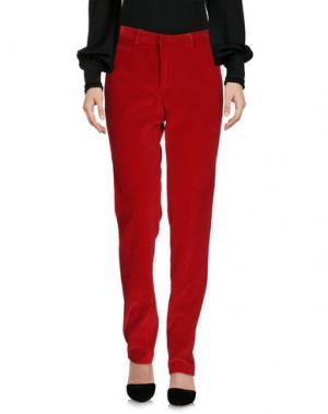 Повседневные брюки CHRISTOPHER KANE. Цвет: красный