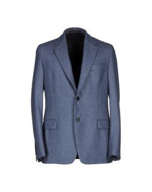 Пиджак FAÇONNABLE. Цвет: грифельно-синий