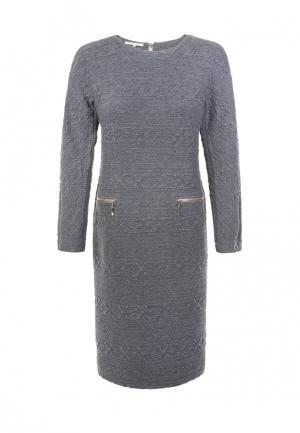 Платье LO. Цвет: серый