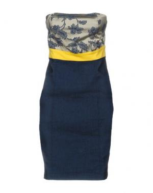 Короткое платье M!A F. Цвет: синий