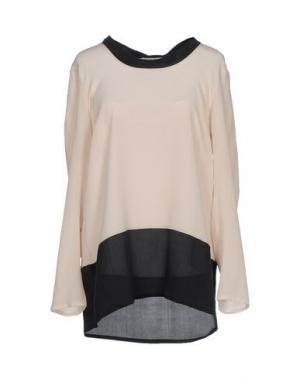 Блузка BARONI. Цвет: бежевый