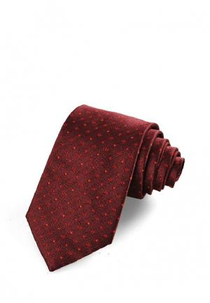 Галстук Churchill accessories. Цвет: бордовый
