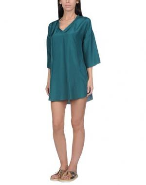 Пляжное платье GRAZIA'LLIANI SOON. Цвет: изумрудно-зеленый