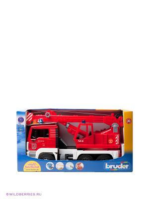Пожарный кран MAN Bruder. Цвет: красный (осн.)