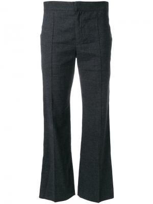 Слегка расклешенные брюки Isabel Marant Étoile. Цвет: серый