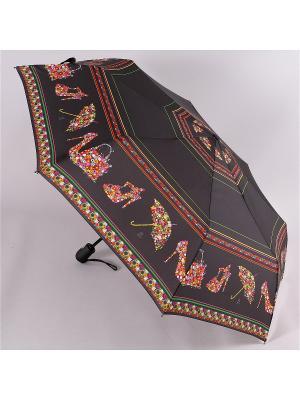 Зонт Airton. Цвет: черный, розовый