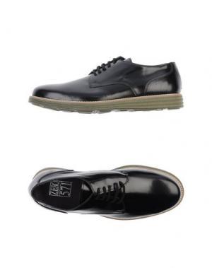 Обувь на шнурках ZERO_571. Цвет: черный