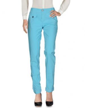 Повседневные брюки MURPHY & NYE. Цвет: бирюзовый