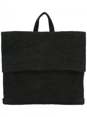 Рюкзак с откидным клапаном Zilla. Цвет: чёрный