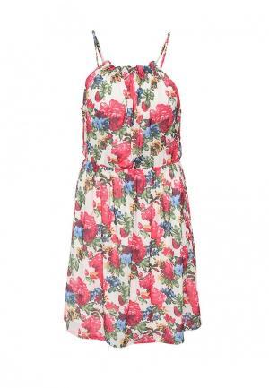 Платье AngelEye London. Цвет: разноцветный
