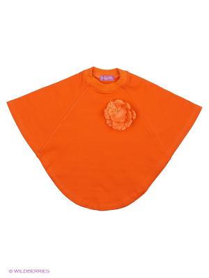 Пончо Stilnyashka. Цвет: оранжевый