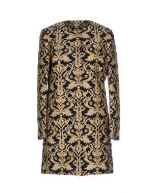 Легкое пальто INTROPIA. Цвет: темно-синий
