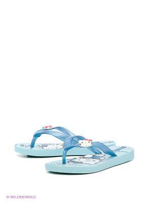 Пантолеты Ipanema. Цвет: голубой