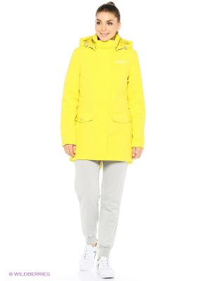 Куртка Stayer. Цвет: желтый