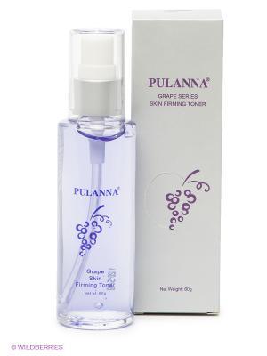 Укрепляющий антистрессовый тоник -Skin Firming Toner 60г PULANNA. Цвет: сиреневый