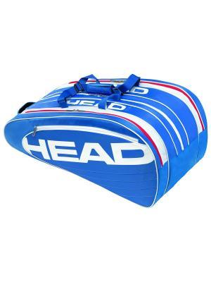 Сумка Elite Monstercombi HEAD. Цвет: синий, белый