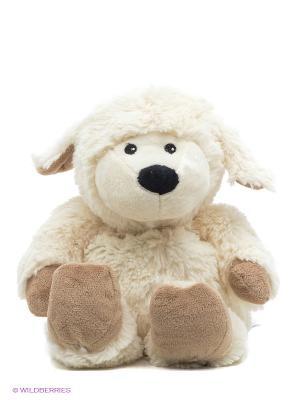 Игрушка-грелка Cozy Plush Овечка Warmies. Цвет: бежевый