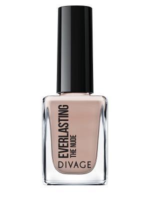 Лак для ногтей nail polish everlasting, тон 01 DIVAGE. Цвет: светло-бежевый