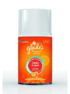 Glade Automatic Сладкий апельсин (Смейся от души) запасной баллон. Цвет: оранжевый