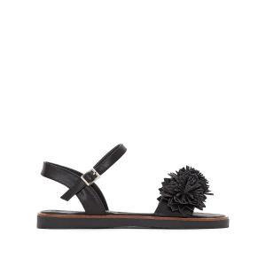 Босоножки на плоском каблуке, Acacia COOLWAY. Цвет: белый,розовый,черный