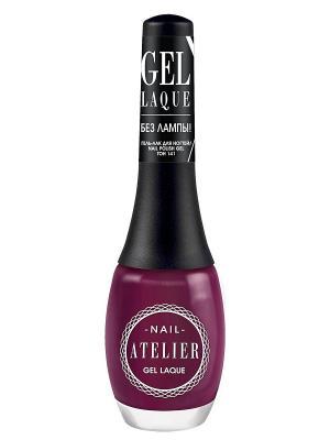 Гель-лак для ногтейNail Atelier тон 141, 12мл Vivienne Sabo. Цвет: бордовый