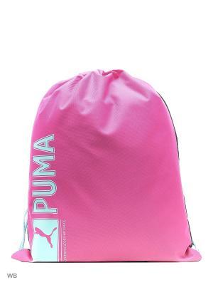 Мешок PUMA Pioneer Gym Sack. Цвет: розовый
