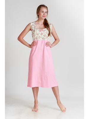 Ночная сорочка Pastilla. Цвет: коралловый, персиковый