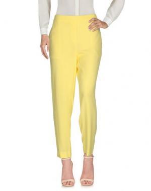 Повседневные брюки ATTIC AND BARN. Цвет: желтый