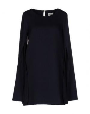 Короткое платье BELAIR. Цвет: синий